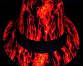 On Fire limited-edition fedora hat