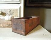 Vintage Kingsbury American Cheese Box / Storage box