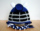 Adult Dalek Hat, Adult Halloween Costume, Robot Hat, Doctor Who inspired crochet Dalek Hat, Adult sizes