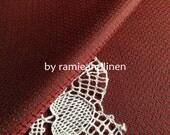 "silk fabric, yarn-dyed woven pure silk fabric, one yard by 45"" wide"