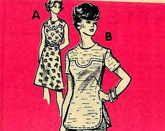 Vintage 1970s Pantsuit  Dress Pattern Uncut Bust 38 Mail Order 9169