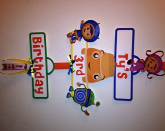 Team Umizoomi Inspired Party Sign