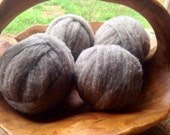 Babydoll Southdown Roving- Brown 2 ounces