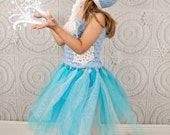 Ice Queen tutu dress and hat