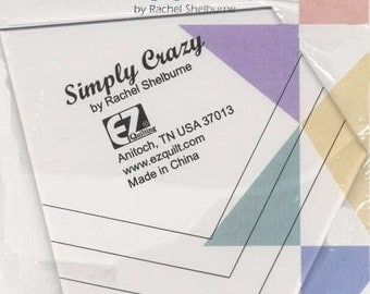 Easy Quilter Simply Crazy Template Ruler