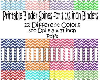 Popular items for spine on etsy for Half inch binder spine template