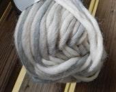 BULKY Weight Yarn - Foggy Day (611) - Greys and White  - Classic Norwegian Style Wool  - Viking Naturgarn - 50g
