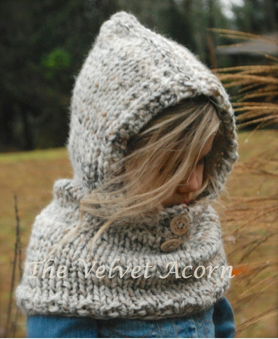 Knitting PATTERN-The Channel Cowl 12/18m ToddlerChild