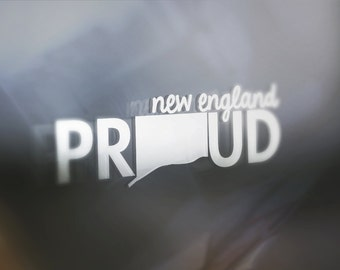 Proud Connecticut: Window Decal