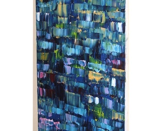 Huge Painting - Original Large Abstract Modern Art Oil Painting - Michel Campeau - MADE TO ORDER - 36''x72""