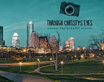 Downtown Austin Skyline Panorama