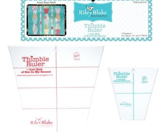 Riley Blake Designs Thimble Ruler Set by Lori Holt