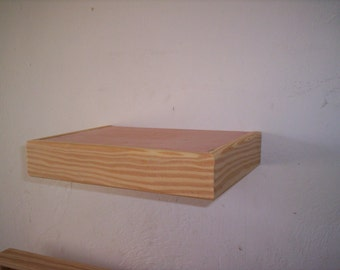 24 inch floating shelf