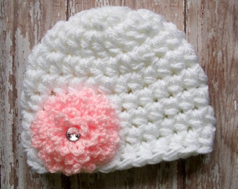 Spring bloom chunky hat - ready to ship