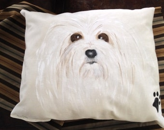 The ultimate puppy bed for your Maltese!