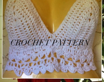Crochet Woman Cover-up Pattern only in PDF.