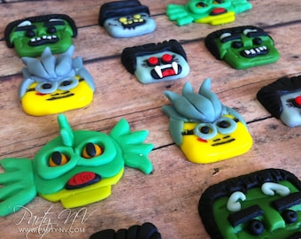 EDIBLE (Fondant Toppers) - Lego Monster Fighters Inspired