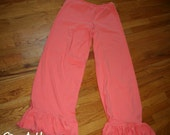 Womens Ruffle Pants - One...