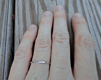 One Thin Stacking Ring
