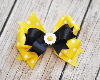 Miss Daisy large bow