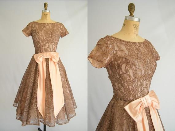 Vintage Brown Prom Dresses 109