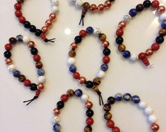 Healing Beads for School Power Bracelet