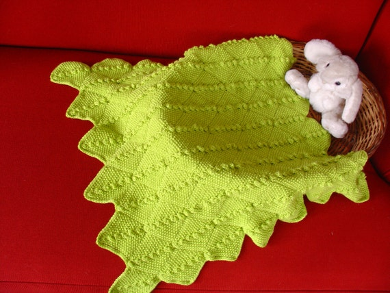 Knitting Pattern for a Baby Blanket
