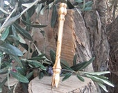 Olive Fork, beautifully carved from one piece of Lesvos Olive wood