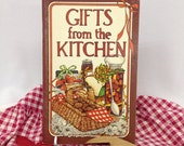 Gifts From the Kitchen Cookbook by Irena Chalmers 1979 - Paperback