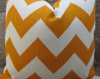 SALE Designer Pillow Cover Lumbar, 18 x 18, 20 x 20, 22 x 22,  - J. Adler Limitless Persimmon