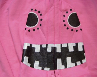 MEDIUM Vocaloid Matryoshka Hoodie Luka Pink Cosplay Costume Glow in the Dark