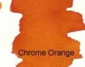 Peerless Transparent Watercolor Sheet - Chrome Orange