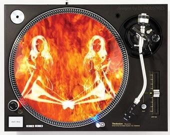 Affiliated Designs - Devil Girl - DJ slipmat
