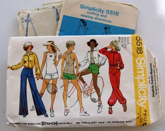 Vintage Simplicity pants and jacket Pattern 5518 size 8