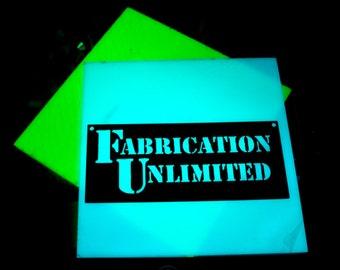Glow In The Dark Acrylic Upgrade for Earrings