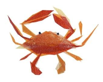 Clementine Crab - Animal Art Print