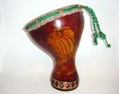 Gourd Drum-- Goat Skin He...