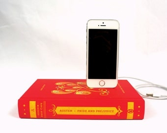 Jane Austen booksi for iPhone -  Pride and Prejudice - Red