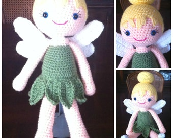 Tinkerbell inspired doll