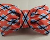 Dog Bow Tie or Flower - Argyle Me