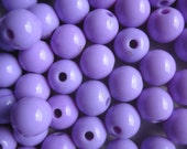 SALE - Lavender Acrylic Beads 8mm 20 Beads