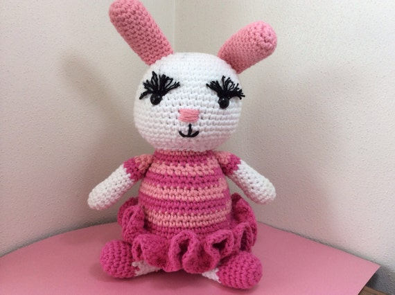 Ballerina Bunny Rabbit Amigurumi bunny Easter by ...