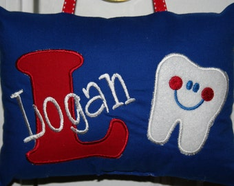 Tooth Fairy Pillow for Boys - Personalized