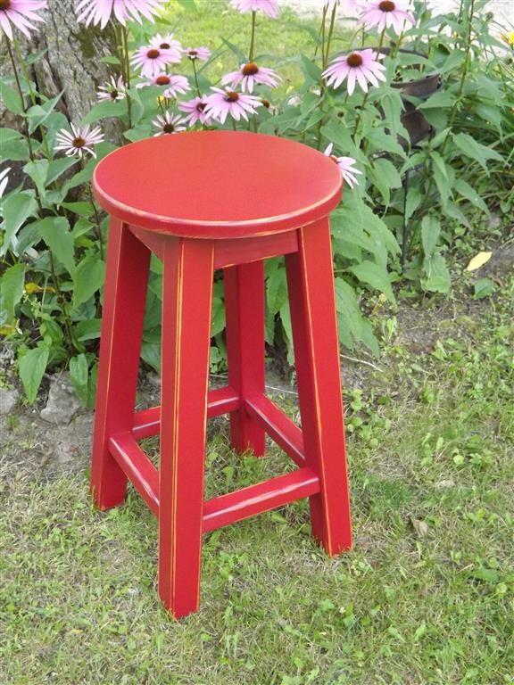 Reclaimed Wood Bar Stools ~ Reclaimed wood bar stool counter round