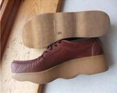 SALE 8 - 8.5 M Famolare Platform Wavy Sole Shoes