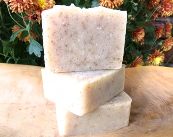PATCHOULI- One bar of handmade, cold process soap made with earthy patchouli essential oil