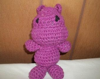 Popo the Hippo Amigurumi