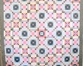 Ice Pellets Quilt Pattern by Curlicue Creations