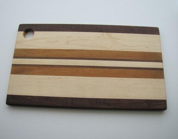 Large Modern Wooden Cutting Board Presentation Platter