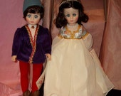 """1978 Romeo and Juliet 12"""" Madame Alexander Dolls NRFBw/Tags Vinyl with Rooted Hair"""